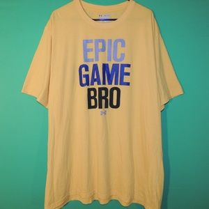 Under Armour Mens Size 4XL Epic Game Bro T Shirt